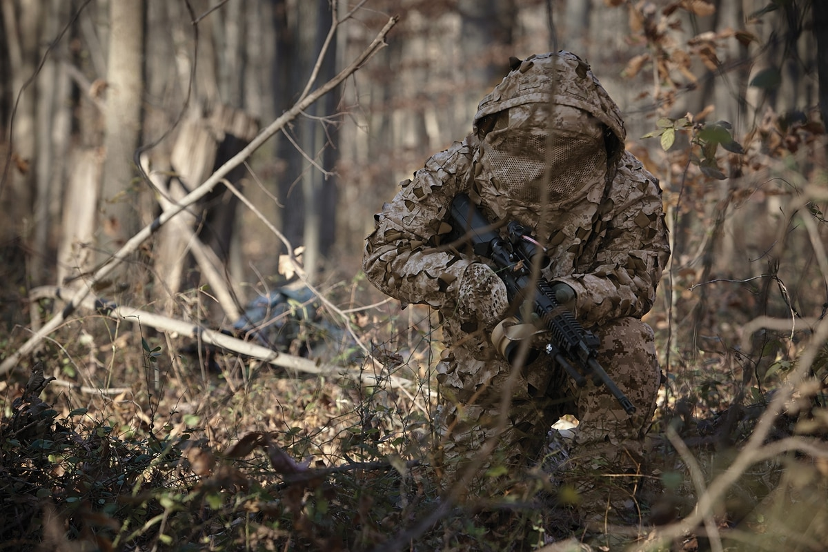 Corps tests new camo the enemy won't be able to spot