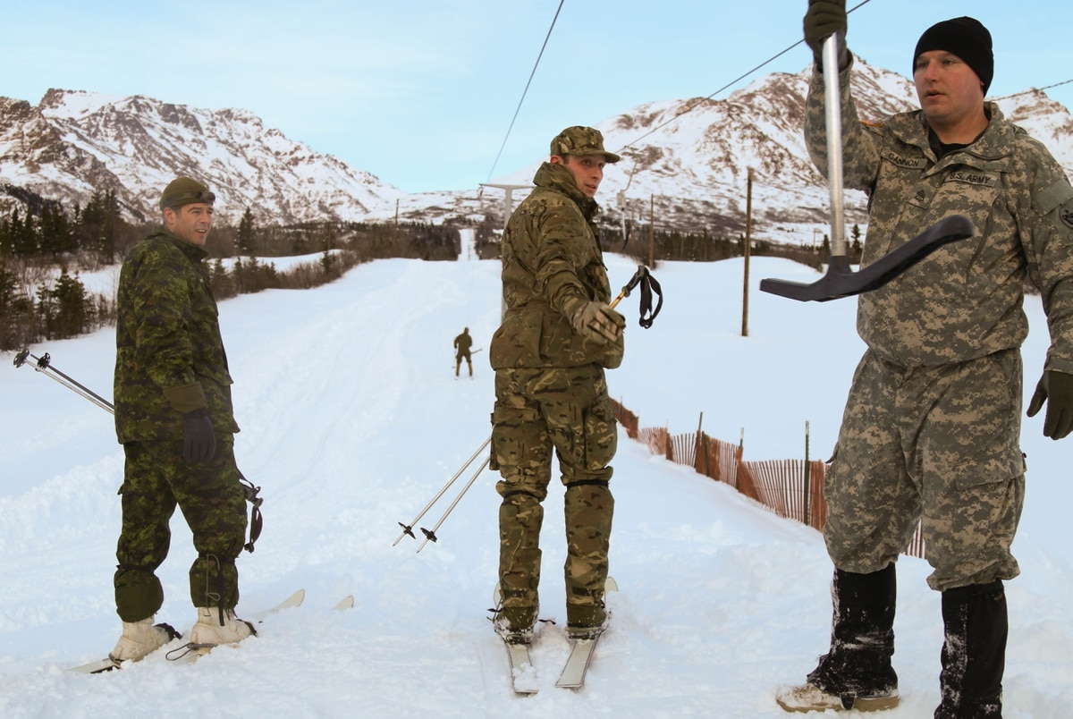 Army International Partners Conduct Cold Weather Training