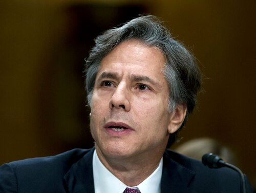 Antony Blinken is expected to receive the nomination for secretary of state under the Biden administration. (Jose Luis Magana/AP)