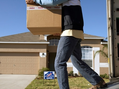 Military movers will be able to deduct certain move-related expenses from their taxes, a perk that civilians on the move won't be able to use this tax year. (Getty Images)