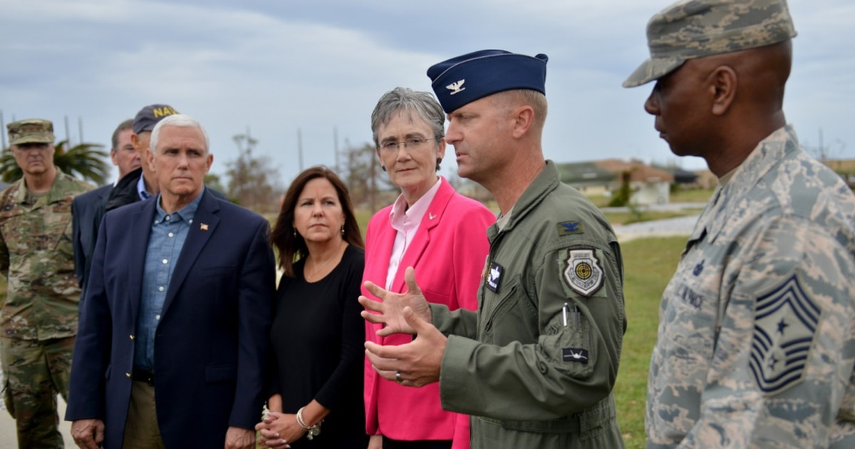 Politicos are pushing to rebuild Tyndall, but should the Air Force bother?