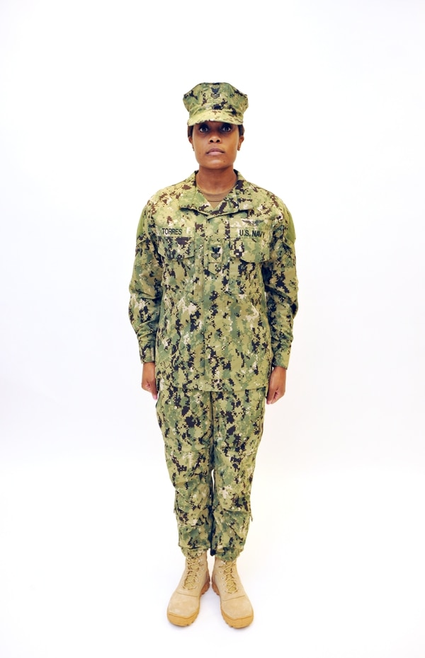 d14532cc939 The Navy s woodland cammies  The roll-out plan   how to wear them right
