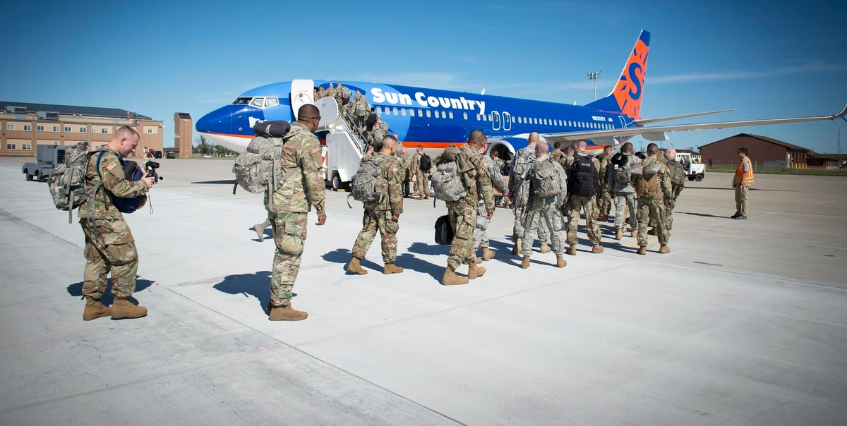 New York Army National Guard Soldiers Head To Ukraine For