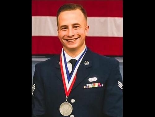 Staff Sgt. Ronald J. Ouelette, assigned to the 42nd Aerial Port Squadron, died Sept. 14 at Ali Al Salem Air Base in Kuwait. (Courtesy photo via Westover Air Reserve Base)