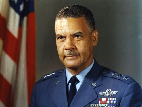 Gen. Benjamin O. Davis Jr. is being honored by the academy where he was ostracized as a cadet in the 1930s. On Friday, West Point dedicated the new barracks named for Davis. (Defense Department)
