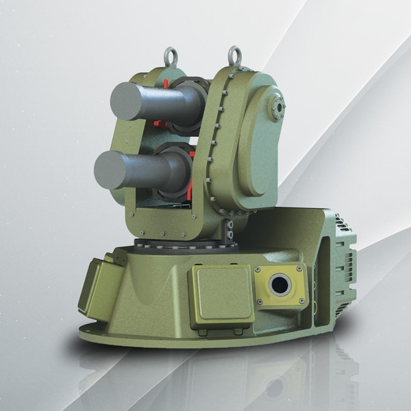 Israeli firm IMI produces the light configuration of the Iron Fist active protection system. (IMI Systems)