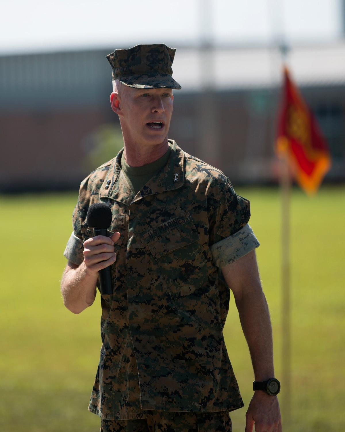 The special operations Marine Raiders have a new commander