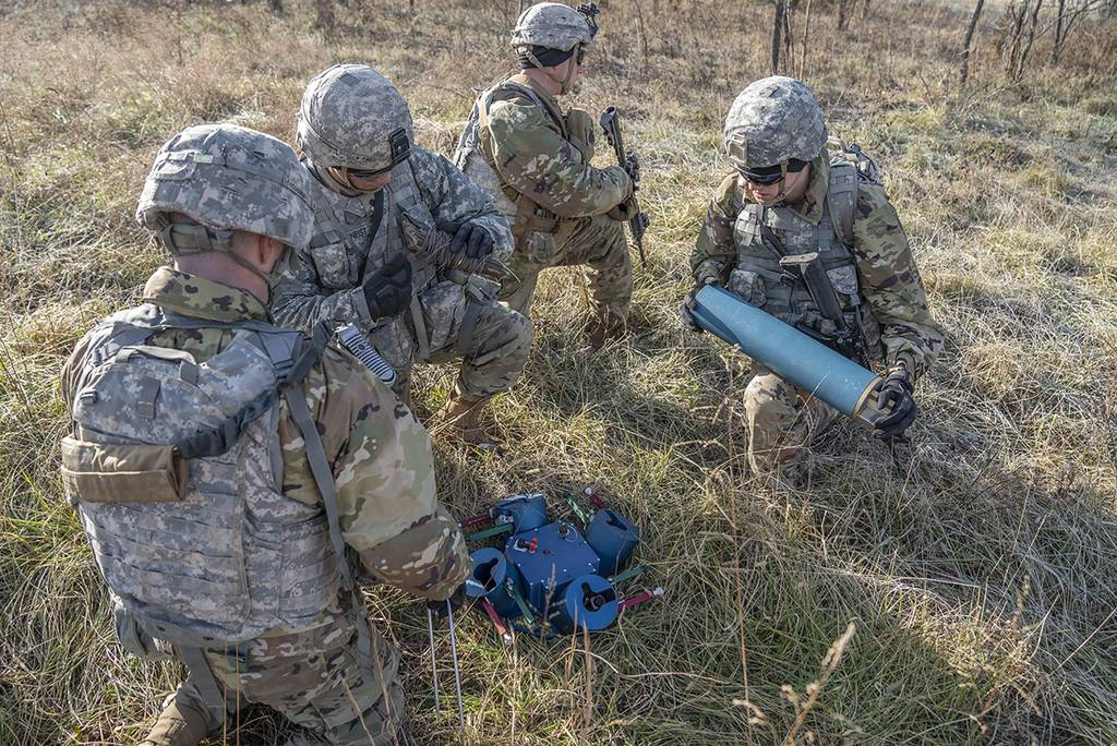 El Ejército quiere minas terrestres reutilizables en red
