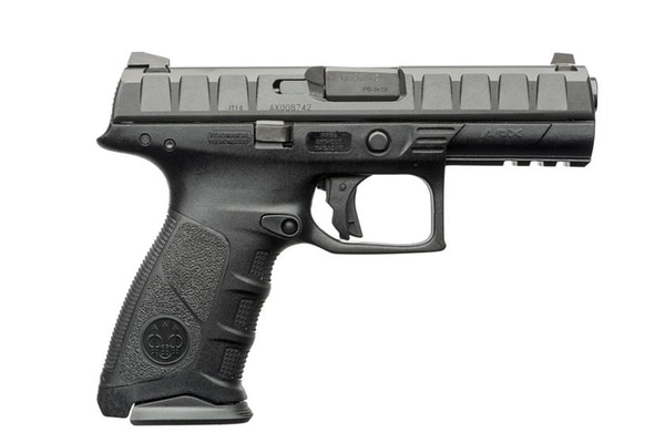The Beretta APX was the company's attempt to continue providing the primary service handgun to the U.S. military. Sig Sauer won the contract to produce the Modular Handgun System for the next decade. (Beretta)