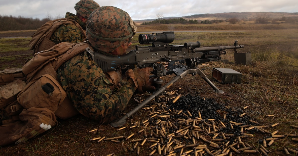 MARSOC to evaluate machine gun that could replace both the M240 and .50 caliber 'Ma Deuce'