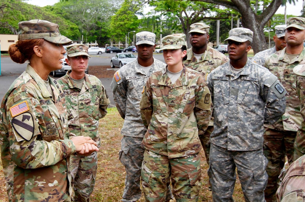 army professional military appearance Personnel accountability, sops, uniform and appearance, drill and ceremony, inspections, command presence during maintenance), and educate/train junior leaders to reinforce  • the army.