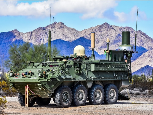 The Tactical Electronic Warfare System (TEWS), above, is one prototype the Army is using to inform the development of its Terrestrial Layer System. (Photo credit: Army)