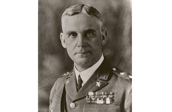 Charles P. Summerall, who commanded V Corps as a two-star general under Gen. John Pershing during World War I. (Army)