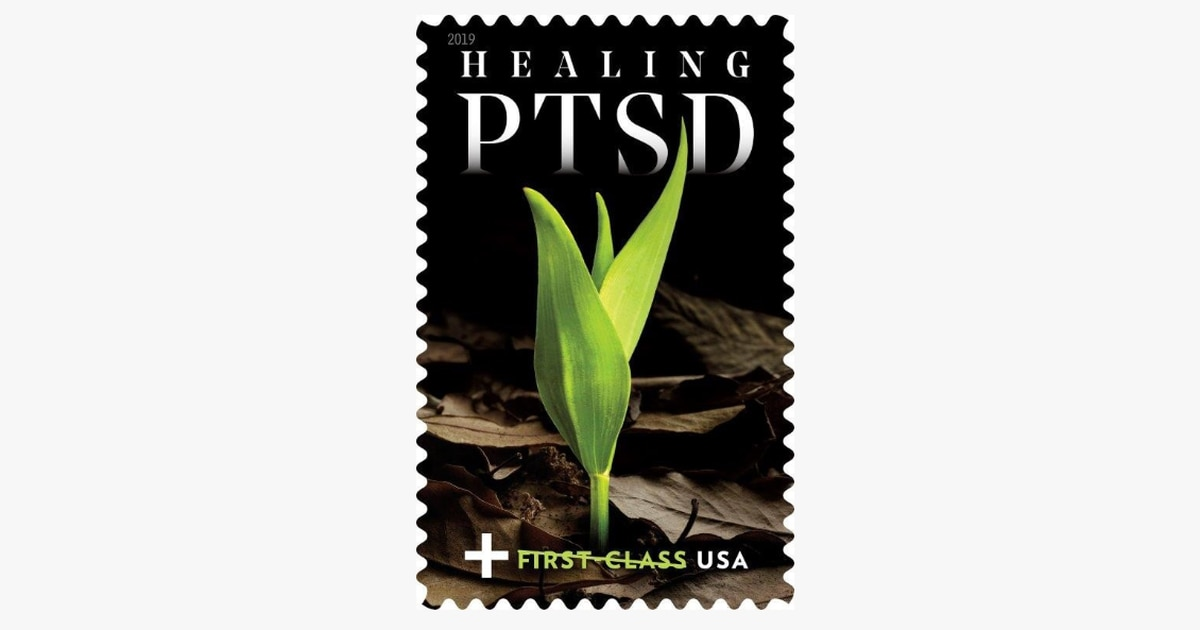 US Postal Service issues 'Healing PTSD' stamp to raise funds for veterans