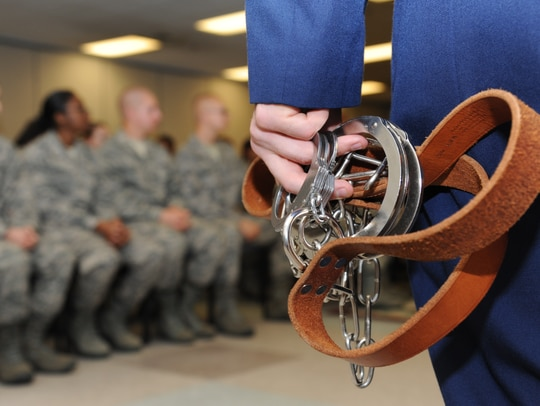 A sweeping set of changes to the Uniform Code of Military Justice went into effect Jan. 1. (Kemberly Groue/Air Force)