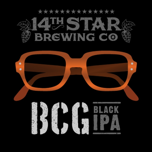 Promotional material for 14th Star Brewing Company's BCG Black IPA. (Courtesy of 14th Star Brewing Company)