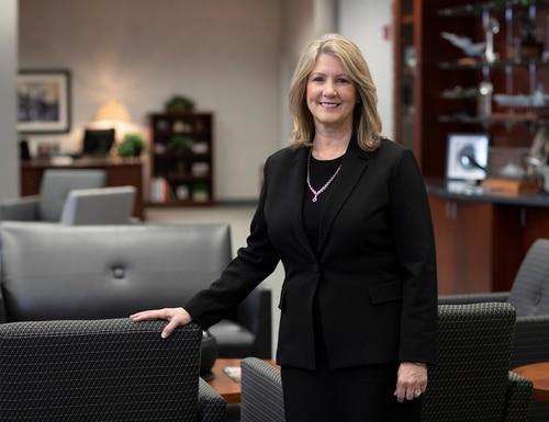 Michele Evans was appointed to lead Lockheed Martin's Aeronautics business in 2018. (Lockheed Martin)