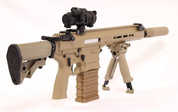The MARS/Cobalt Kinetics rifle can effectively engage targets 1,000 yards away.