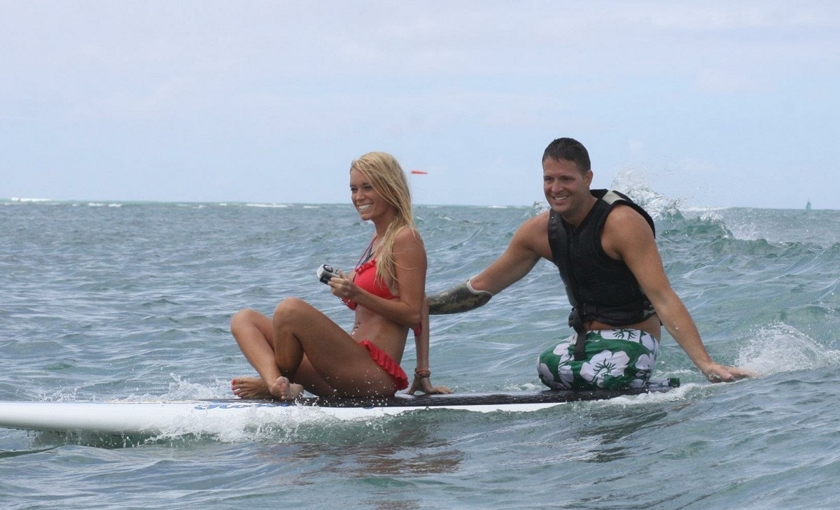 Surfing dating
