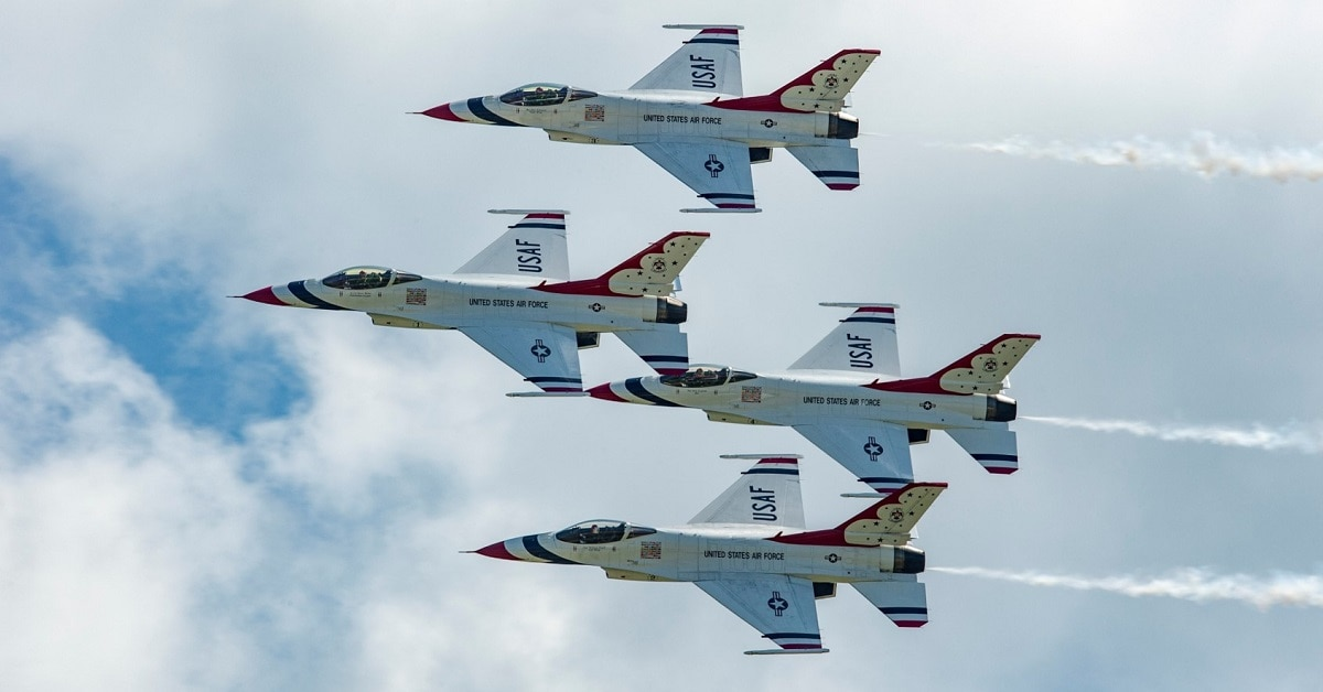 air force thunderbirds announce new pilots for a new season