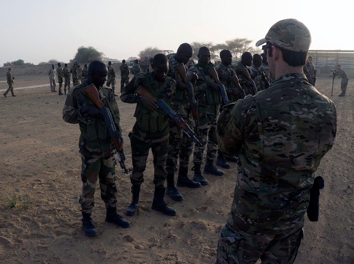 U.S. troops in Niger, Mali and Cameroon to receive 'danger pay'