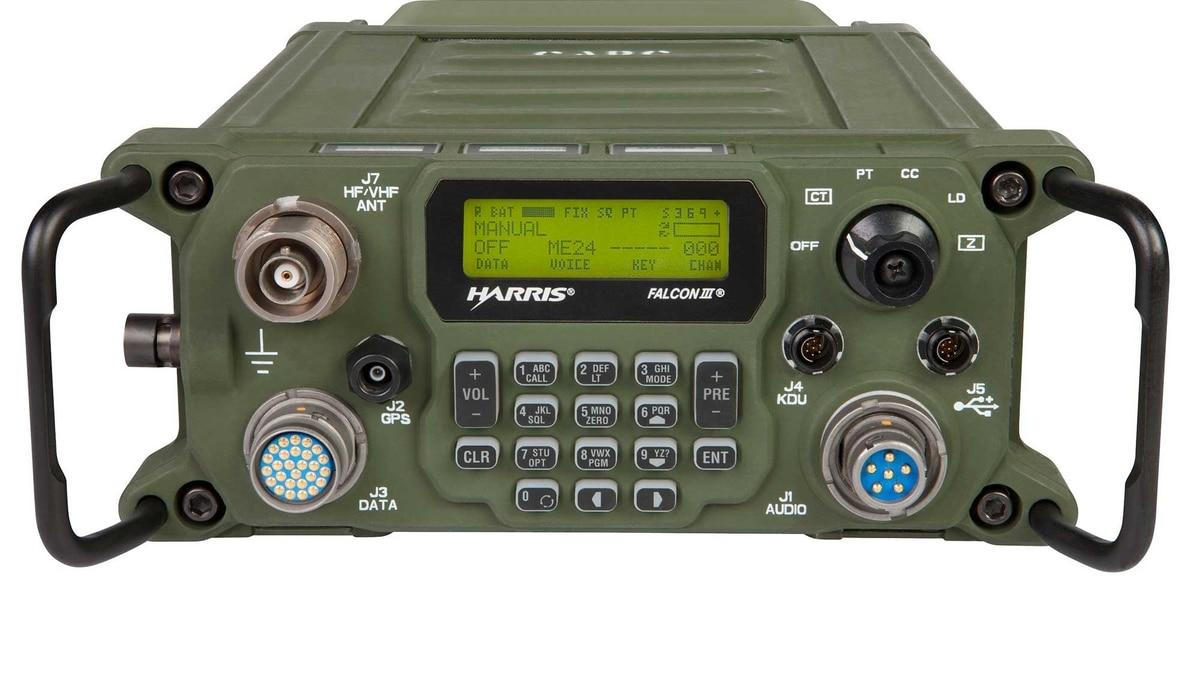 Harris unveils new manpack radio