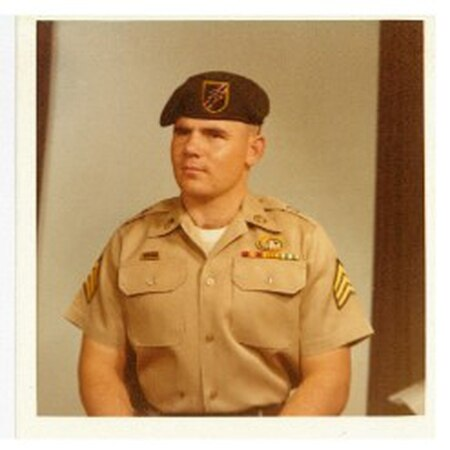 Sgt. Gary M. Rose during a deployment to Thailand, April 1969. (Photo courtesy Gary M. Rose)