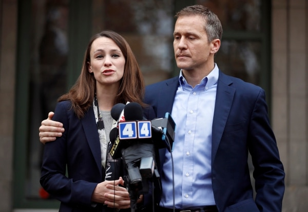 Republican Eric Greitens has acknowledged he's been
