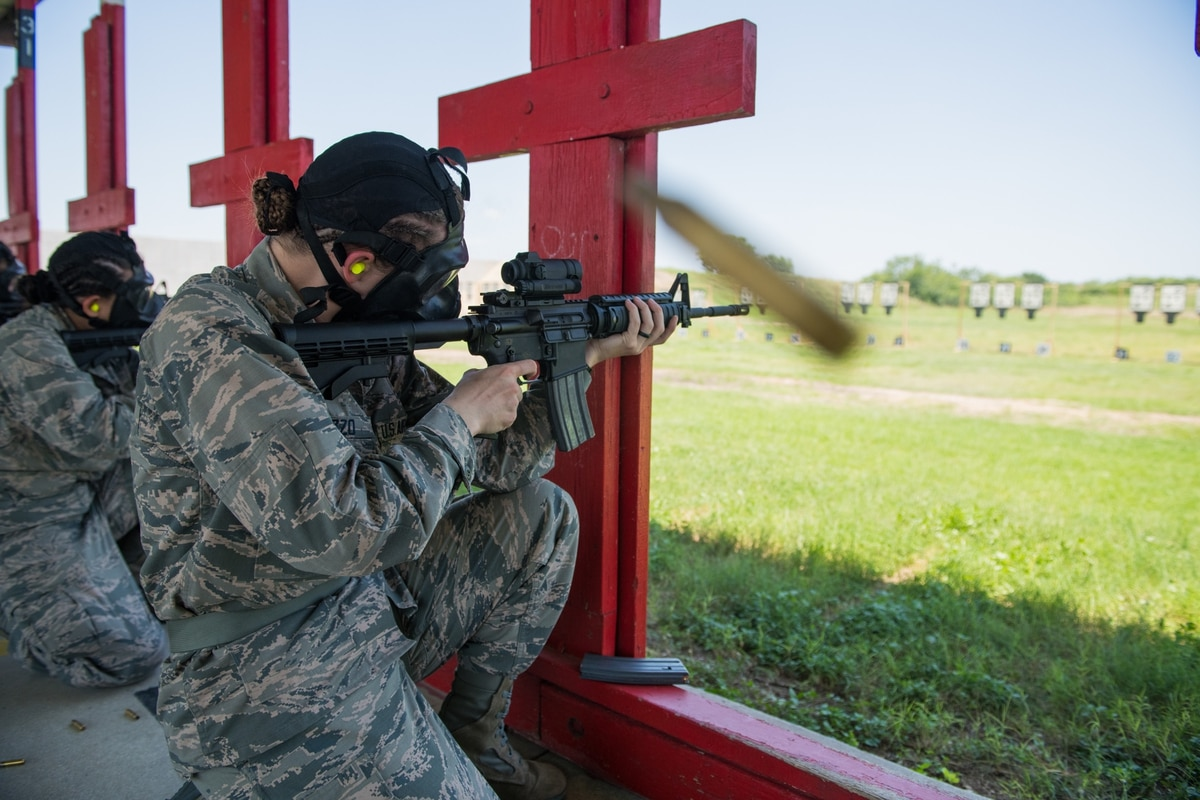 M4 carbine training and qualification comes to Air Force