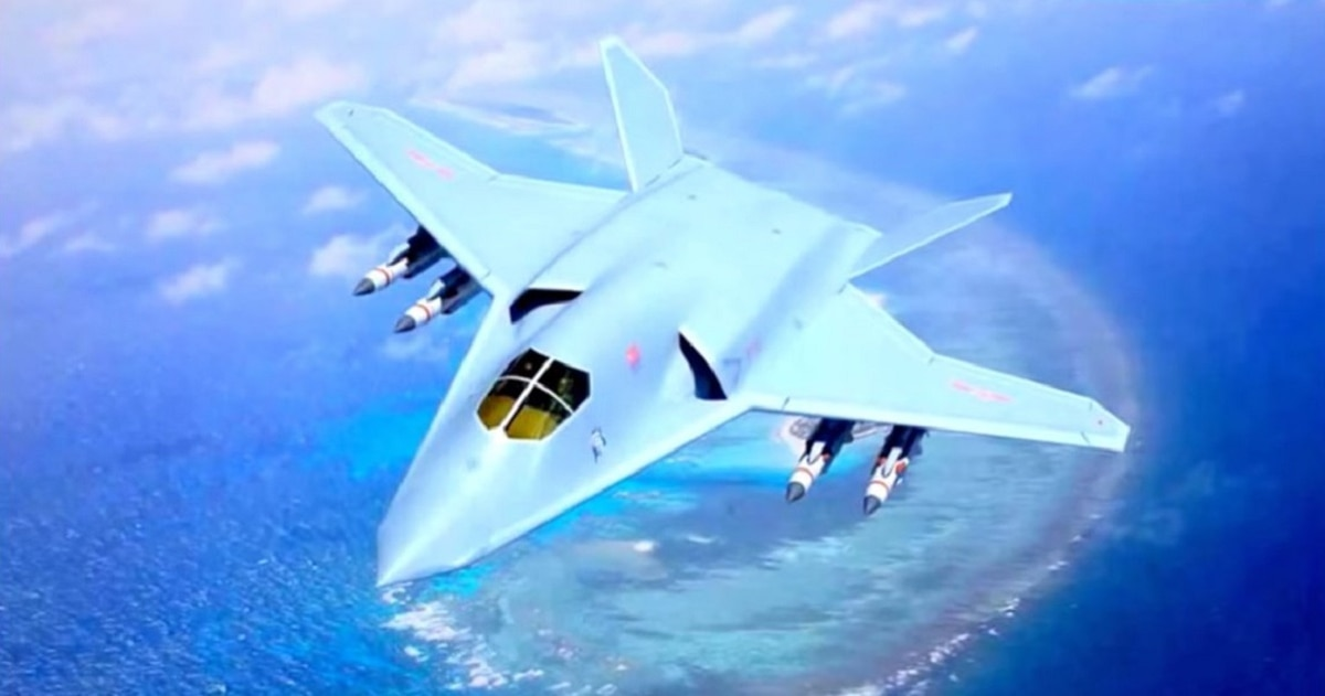 US intelligence reveals another mysterious Chinese stealth