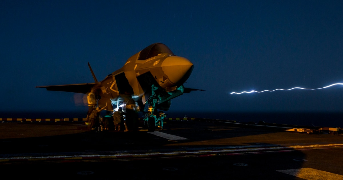 DoD announces global grounding of all F-35s
