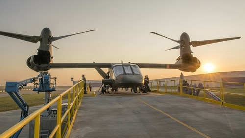Bell Helicopter's V-280 Valor is part of the Joint-Multi Role demonstration being conducted ahead of the U.S. Army's Future Vertical Lift program of record. (Courtesy of Bell)
