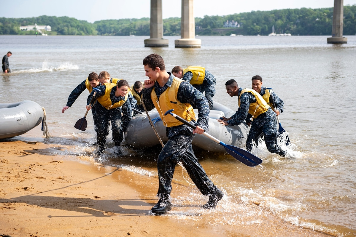 Naval Academy plebes to take part in Sea Trials