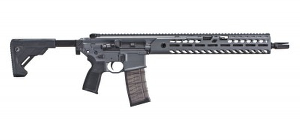 The Army recently purchased a suite of Sig Sauer weapons, including the MCX carbine pictured here for foreign military sales. (Sig Sauer)