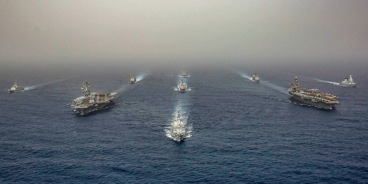 Why the US Navy has 10 ships, 130 aircraft and 9,000