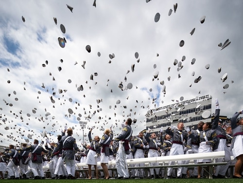 Nearly 1,000 cadets in the Class of 2019 graduated from the U.S. Military Academy at West Point in May. (Cadet Alex Gudenkauf/Army)