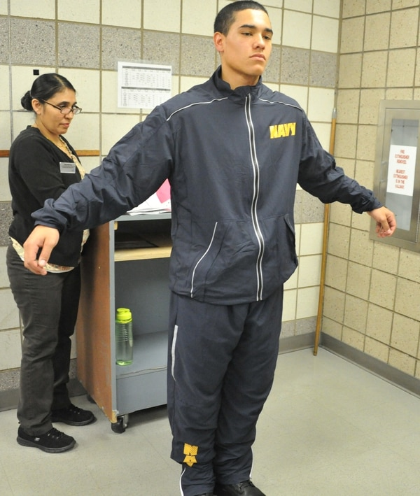 New Navy Fitness Suit Goes On Sale In July