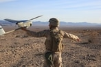 The Corps wants 15 suicide drones swarming from the hands of one front-line Marine