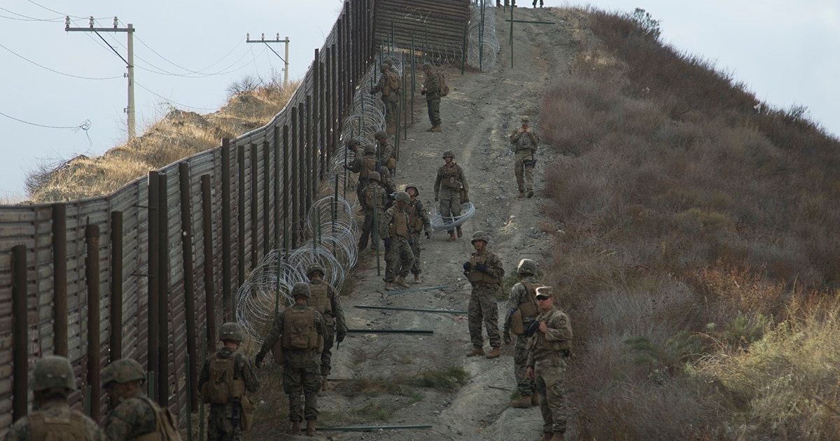 California governor to draw down National Guard troops at border with Mexico