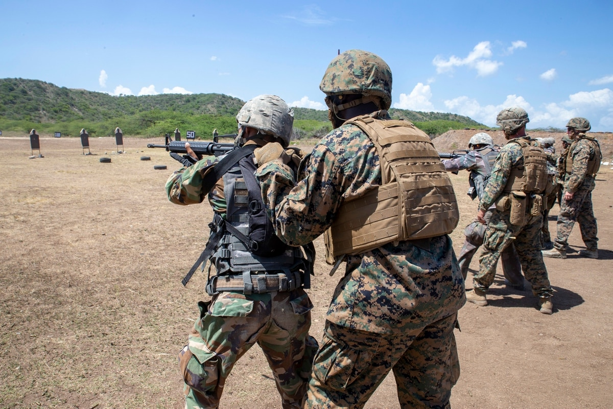 Small group of Marines, sailors complete 'first step' in building
