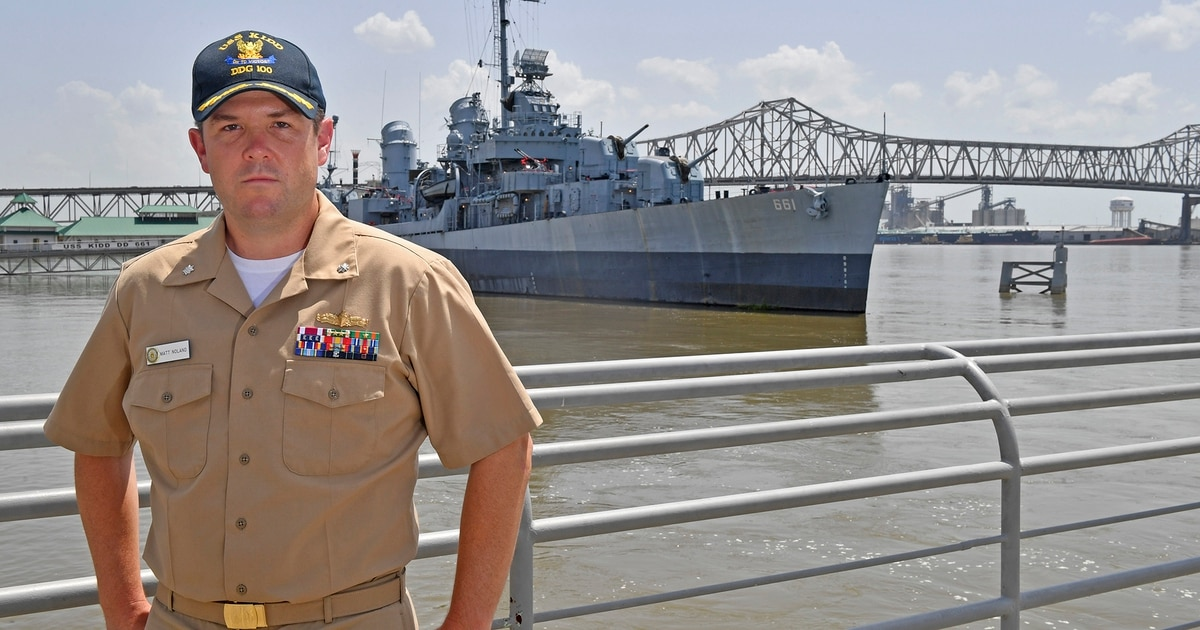 World War II-era ship played role in career of destroyer Kidd's new commander