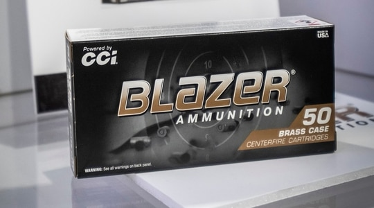 The new CCI Blazer Braze 10mm ammo gives magnum round enthusiasts a new, affordable option.