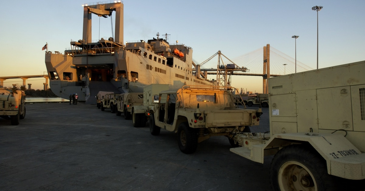 Should the US Army pay for sealift?