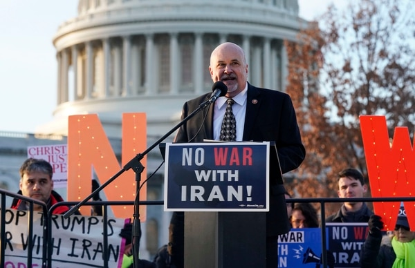 Rep. Mark Pocan speaks during the