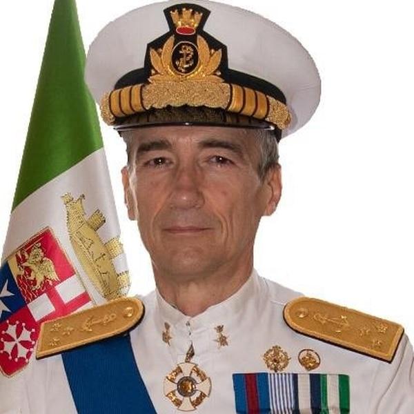 Vice Adm. Aurelio De Carolis is deputy chief of staff of the Italian Navy.