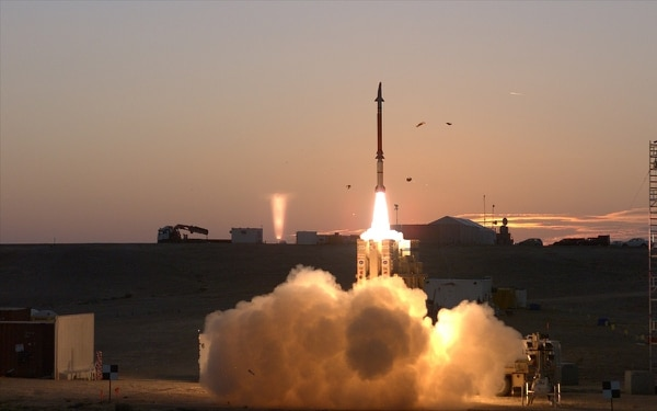 The Israel Missile Defense Organization of the Directorate of Defense Research and Development and the U.S. Missile Defense Agency successfully complete a series of tests of the David's Sling Weapon System. (Leah Garton/U.S. Missile Defense Agency)
