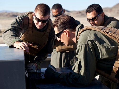 Observations of advanced electronic warfare capabilities have confirmed that Marine Corps forces will have to operate in degraded environments. (Lance Cpl. Jose Villalobosrocha/Marine Corps)