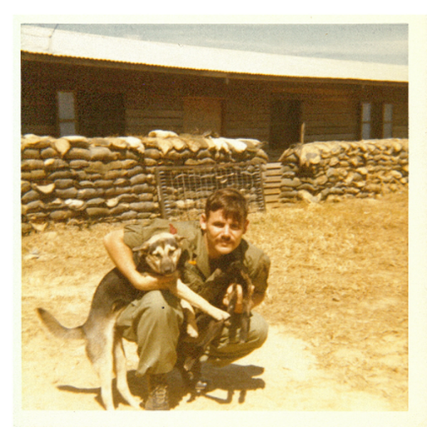 Sgt. Gary Michael Rose in Kontum, Vietnam, 1970. (Photo courtesy Gary M. Rose)