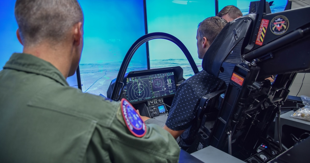 Coming in 2020: A new technology that will link F-35 simulators across the globe