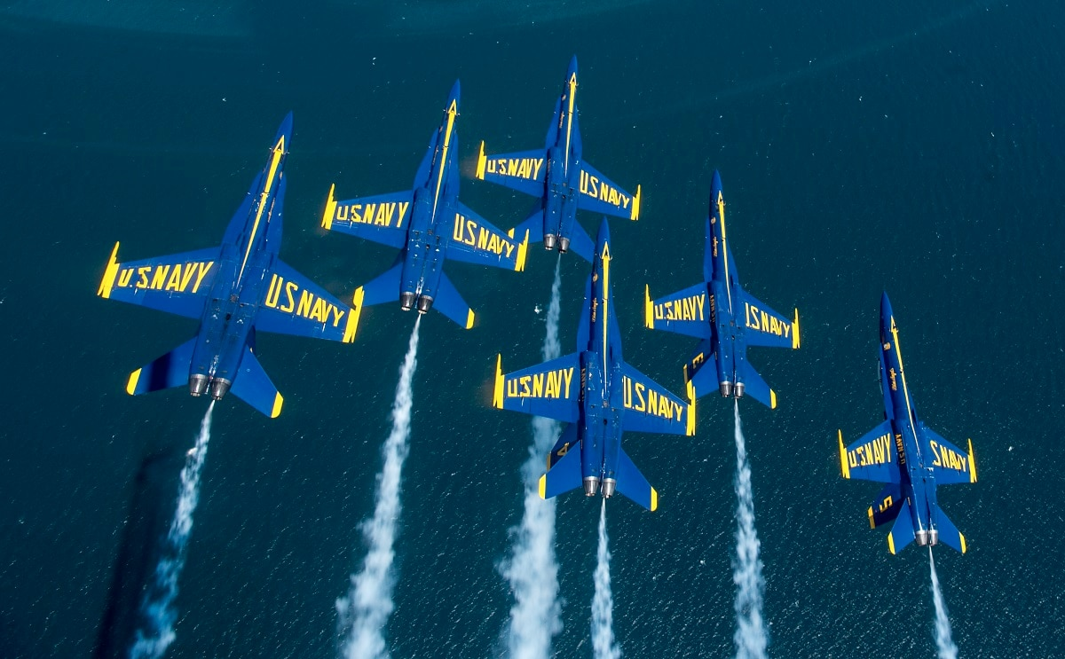 154df75a64c Commander returns to the skies as executive officer of the Blue Angels